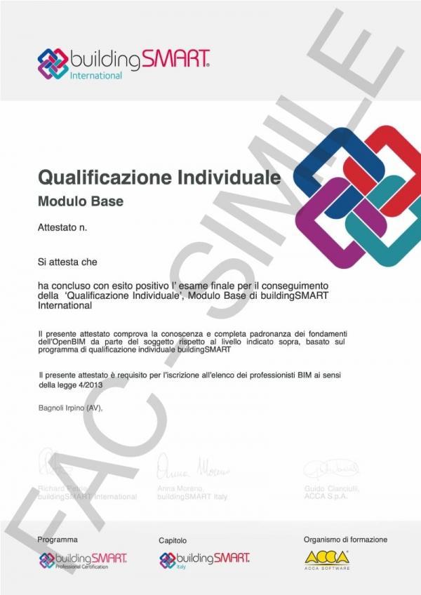 Qualificazione Undividuale